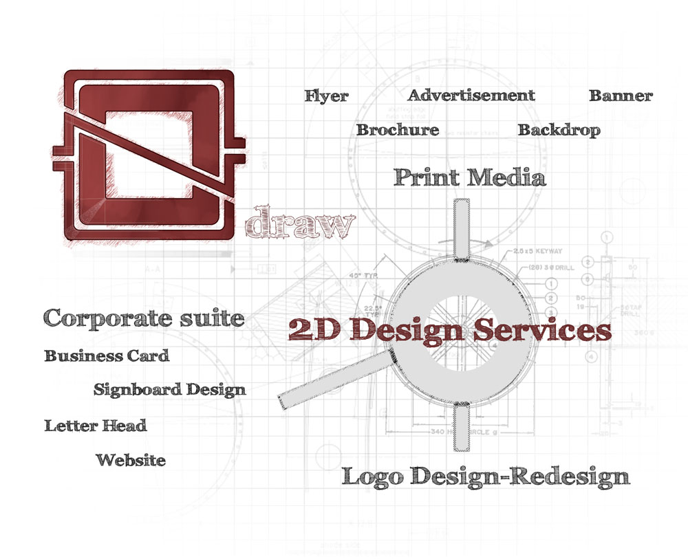 gnogn draw 2D design services: Brochure, Banner, Name Card, Flyer, POster, Advertisement, Signboard, Logo Designs in Kuching